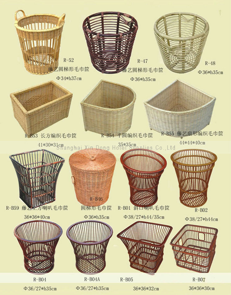 Hotel rattan tower trays, hotel supplies, direct hotel
